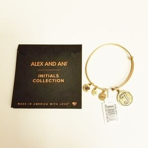 Alex and Ani Initials Collection T
